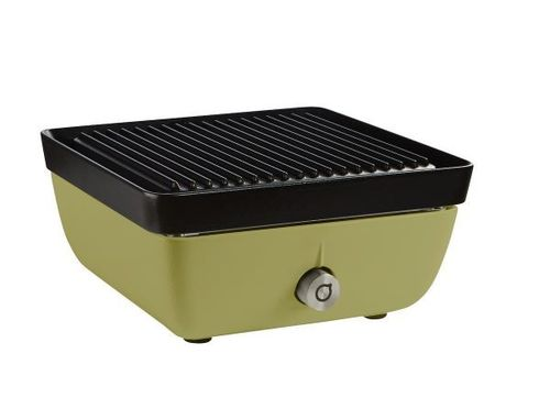 Ferleon Patio Cooker – Olivgrün mit Grillplatte