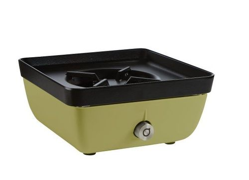 Ferleon Patio Cooker – Olivgrün mit Kochplatte