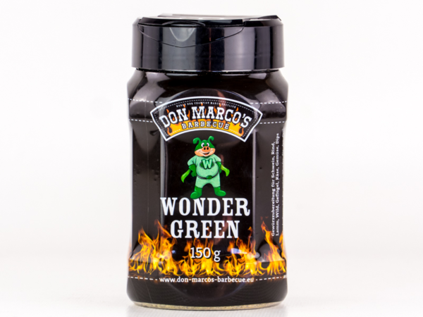 Don Marco's WonderGreen Barbecue Rub 150g