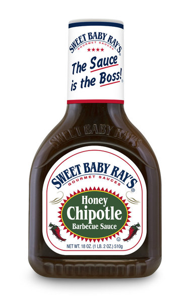 Sweet Baby Ray's Honey Chipotle Barbecue Sauce, 510g