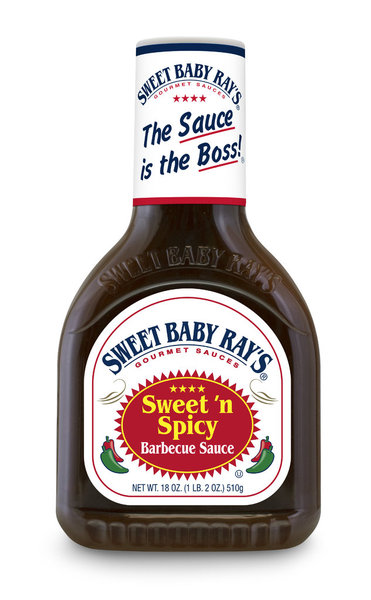 Sweet Baby Ray's Sweet ´n Spicy Barbecue Sauce, 510g
